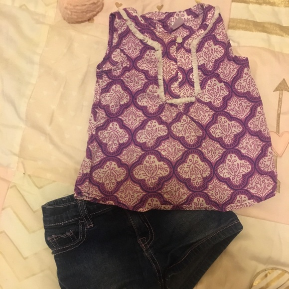 ❤️ 18-24 Month Baby Girl Shorts & Tank Outfit❤️